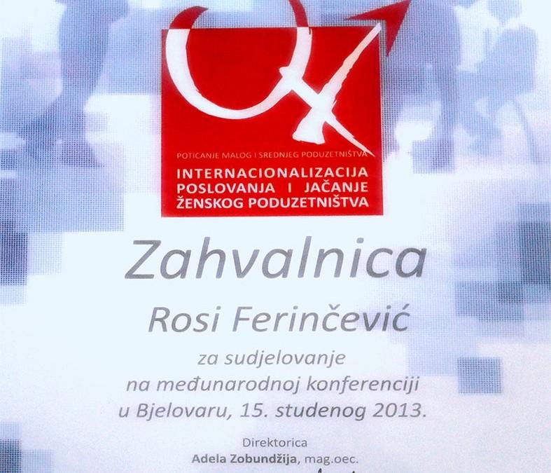 Međunarodna konferencija u Bjelovaru