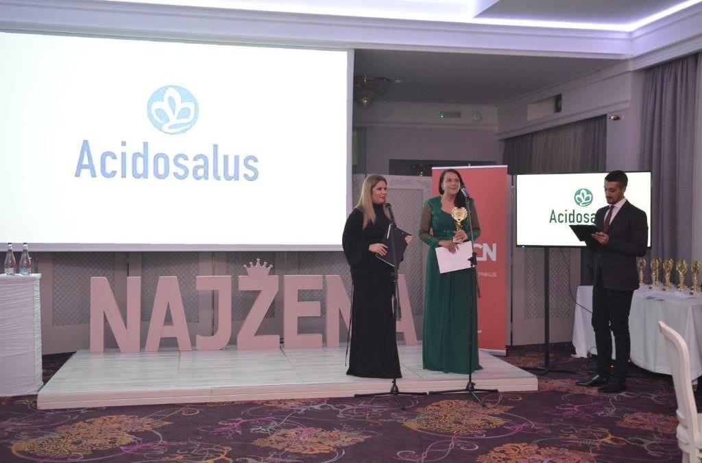 """Vlasnica MarinaLab Opusa Rosa Ferinčevič  postala je """"Naj žena XXI vijeka"""""""